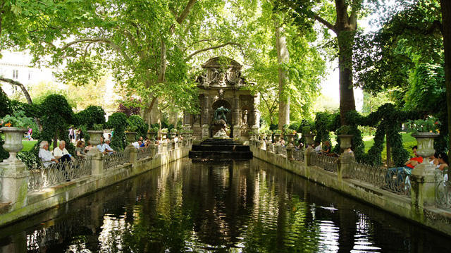 Париж летом