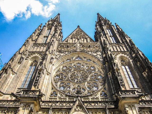 Главные достопримечательности Праги - собор святого Вита