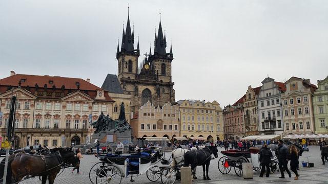Что посмотреть в Праге - Староместская площадь