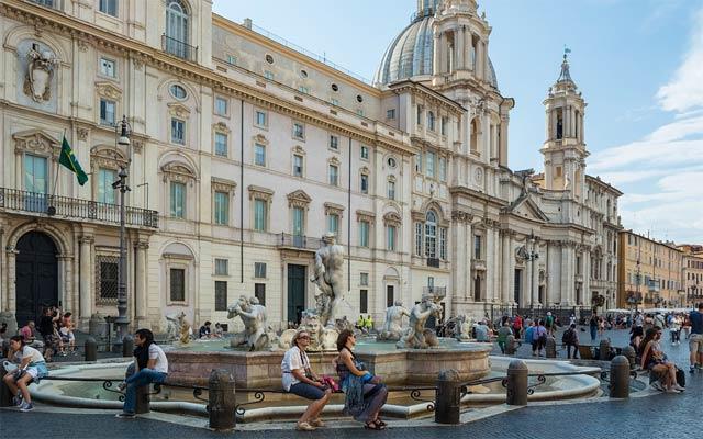 Площади Рима - пьяцца Навона