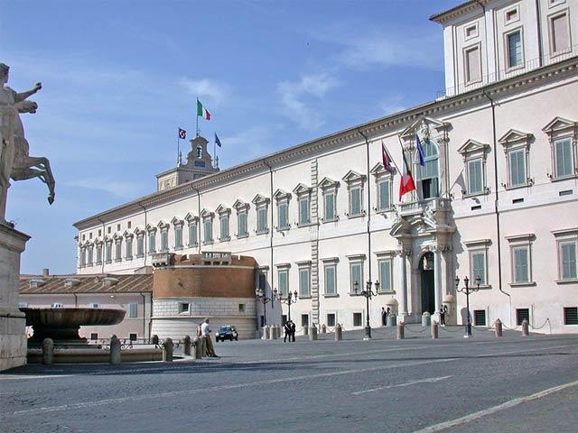 Самостоятельные прогулки по Риму - Квиринальская площадь