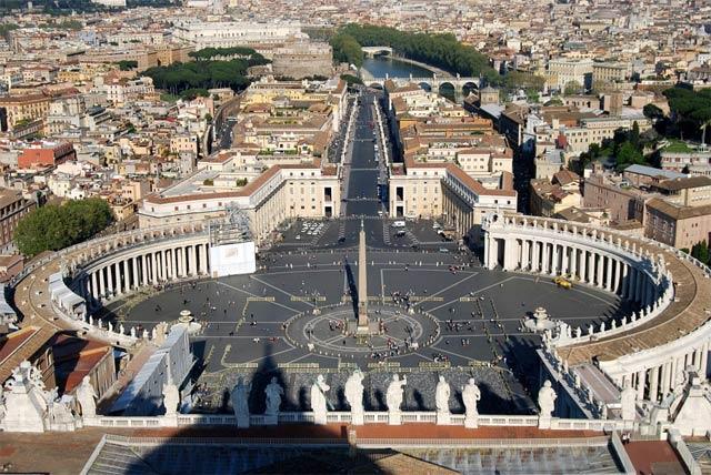 Площади Рима - Ватикан