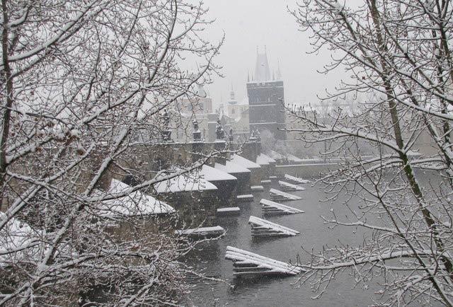 ехать в Прагу зимой - самостоятельное путешествие
