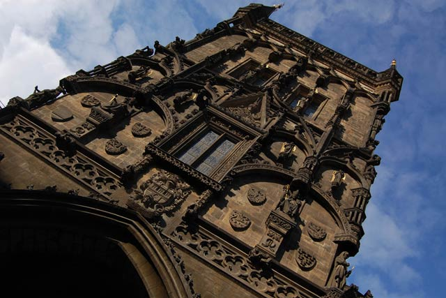 Смотровые площадки Праги - Пороховая башня