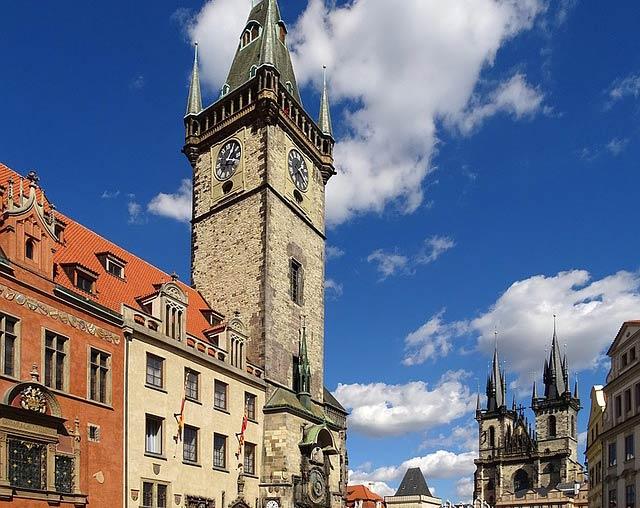 Обзорные площадки Прага