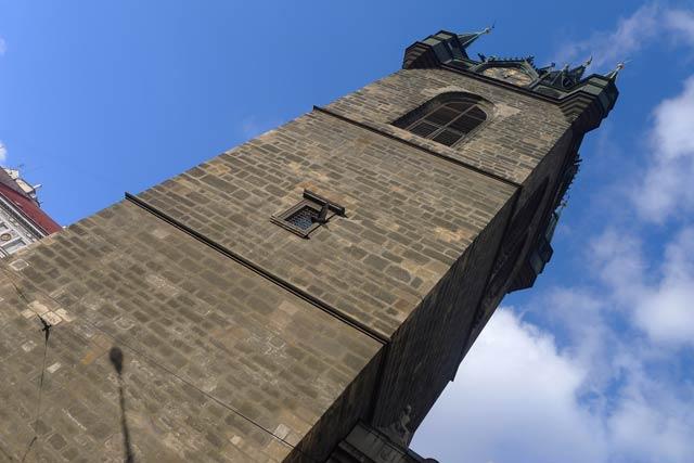 Смотровые площадки Праги - Йиндржинская башня