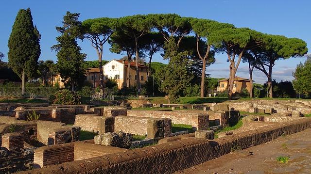 Достопримечательности Рима окрестности