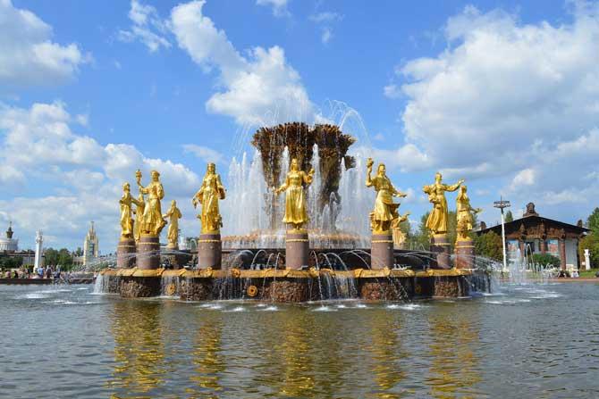 ВДНХ в Москве главные достопримечательности