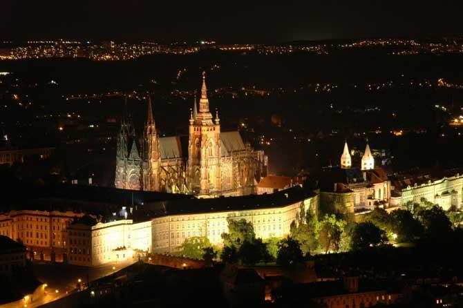 Пражский град в Праге интересное