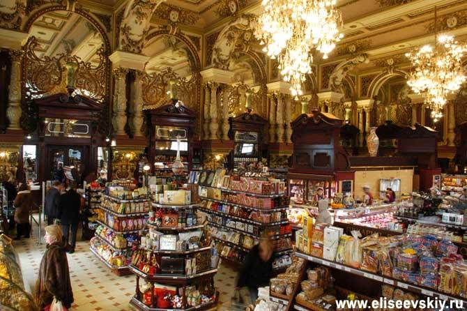 необычные и интересные места в Москве - Елисеевский магазин