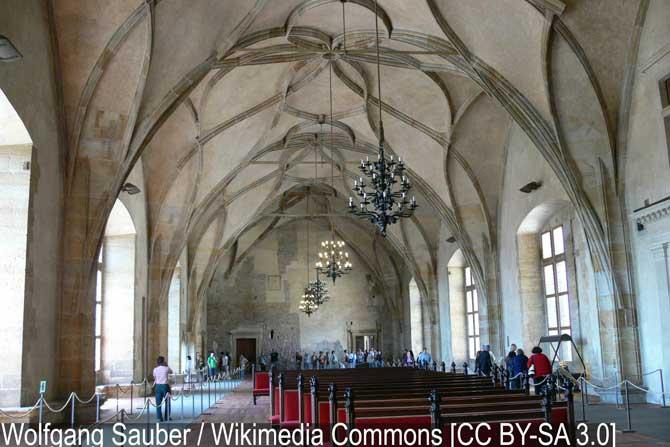 Старый королевский дворец - Пражский град