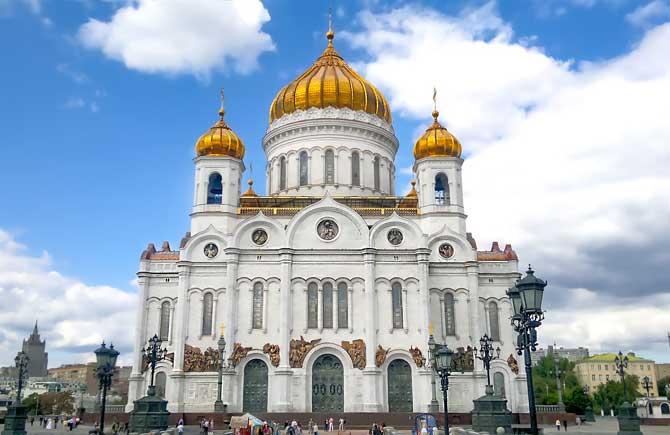 Что посмотреть в Москве в первую очередь - храмы