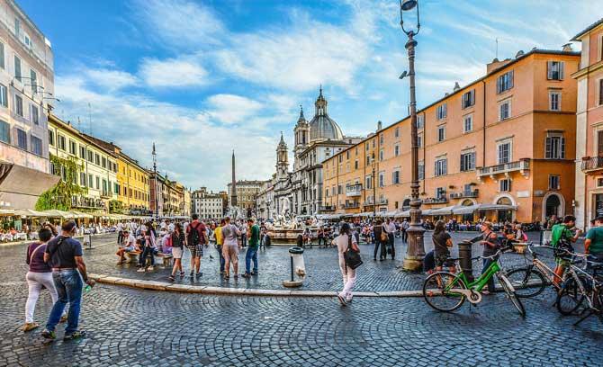 Куда сходит ьв Риме