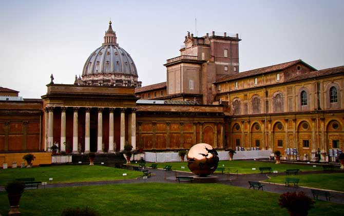 Музеи Ватикана в Риме