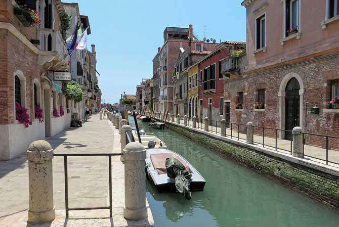 где остановиться в Венеции - районы