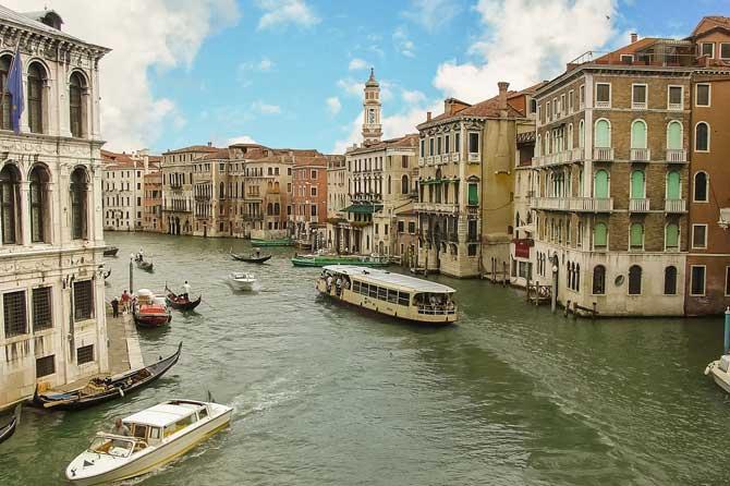 Транспорт в Венеции самостоятельно