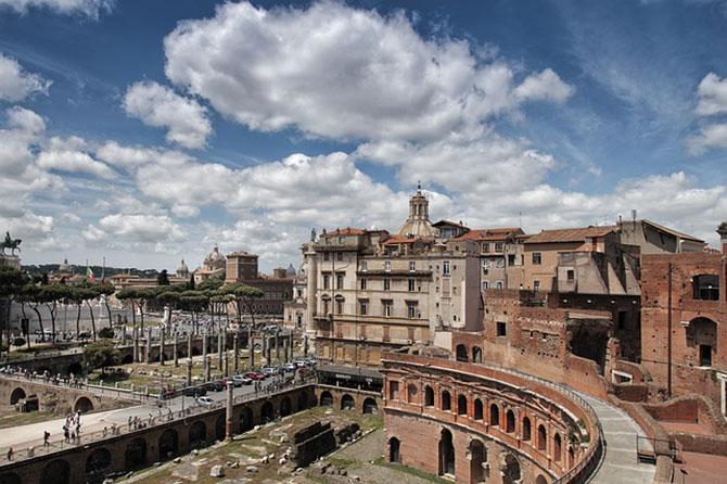 памятники древнего Рима античного