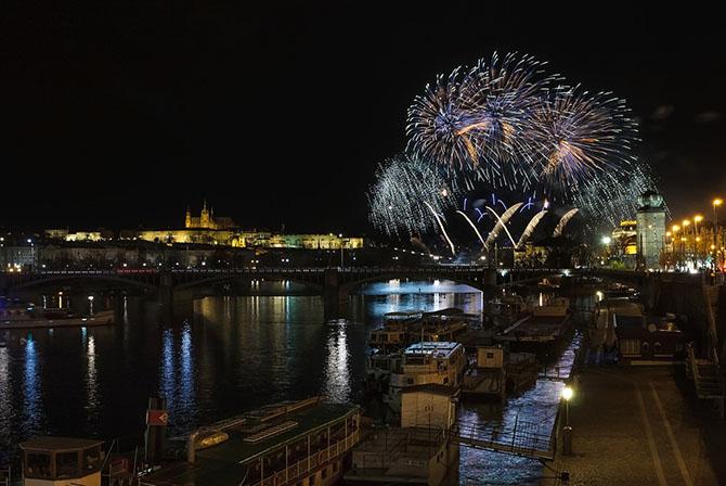 Прага Новый год зимние праздники