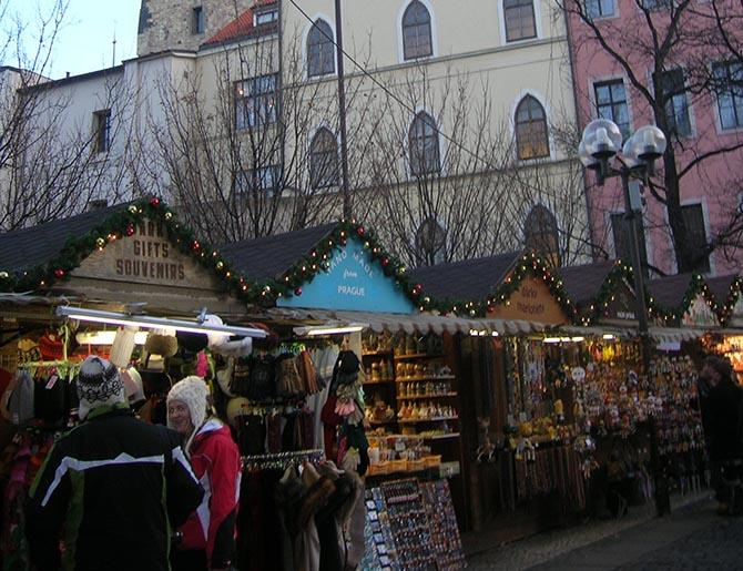 Новый год в Праге и Рождество