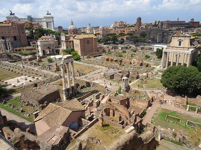 памятники древнего Рима