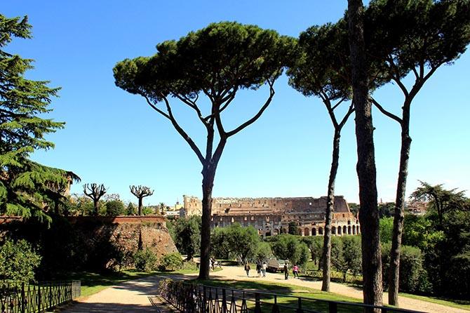 достопримечательности древнего Рима