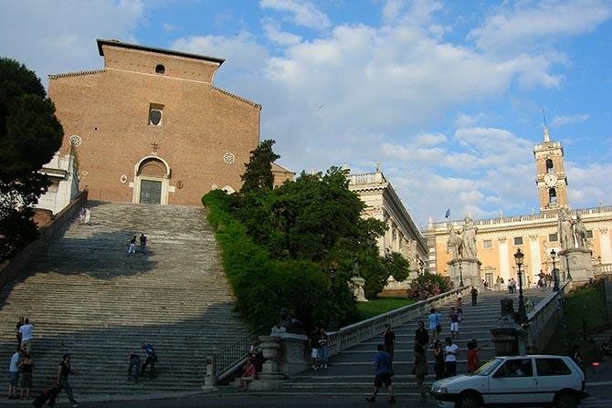 Рим древние памятники