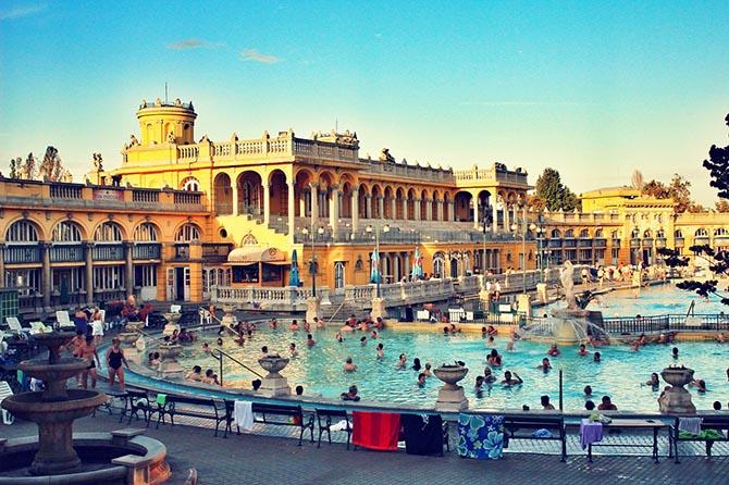 Будапешт чем заняться купальни