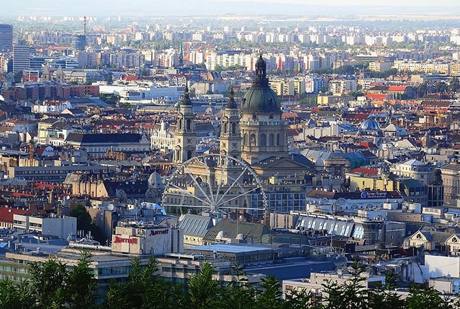 районы и отели Будапешта - где лучше остановиться
