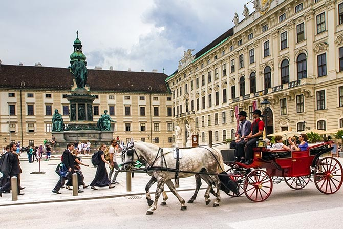 интересные места в Вене - достопримечательности