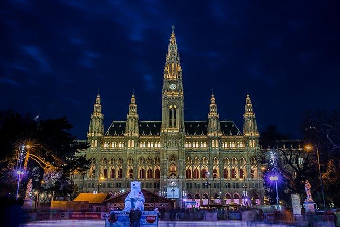 интересные места и достопримечательности Вены - Ратуша