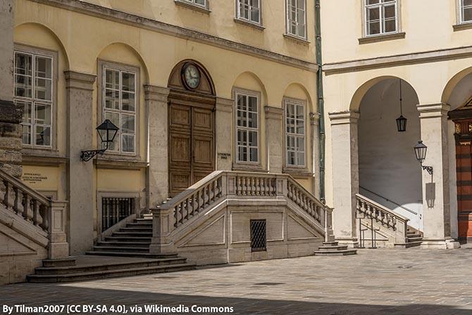 дворцы Вены Хофбург