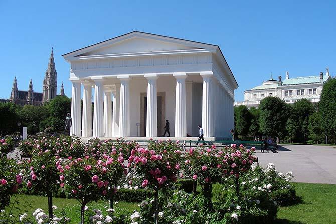 главные достопримечательности Вены - сады и парки