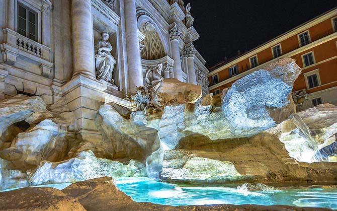 Фонтан Треви в Риме описание и фото