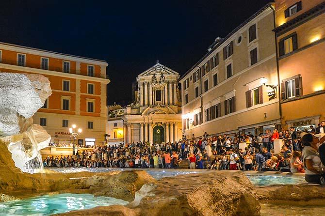 Фонтан Треви в Риме как добраться