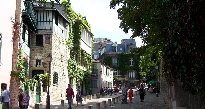 Монмартр Париж - что посмотреть