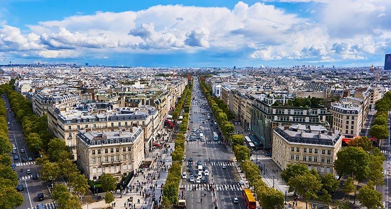 Елисейские поля Париж аудиогид