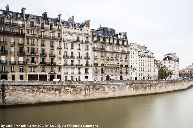 путеводитель - достопримечательности Парижа на карте