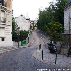 интересные места в Париже - Монмартр