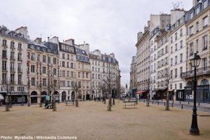 интересные достопримечательности Парижа на карте