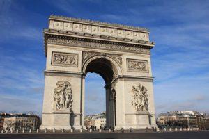Париж Триумфальная арка аудиогид