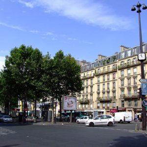 бульвары и достопримечательности Парижа на карте