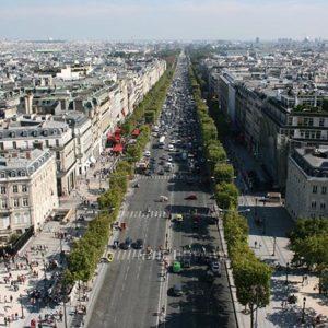 Париж Елисейские поля - интересные места