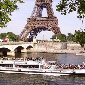 мосты и достопримечательности Парижа