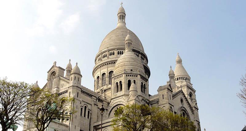Сакре Кер Монмартр в Париже