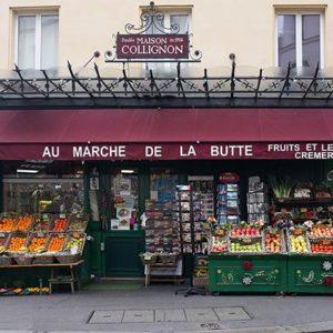 необычный Париж достопримечательности на карте