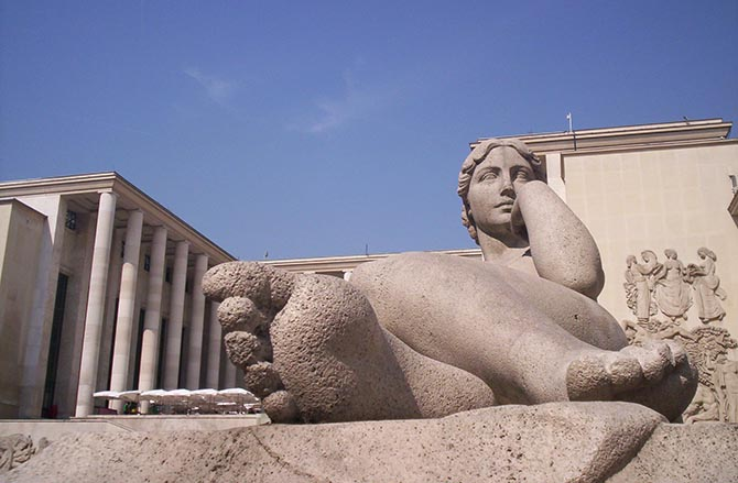 Париж музей современного искусства