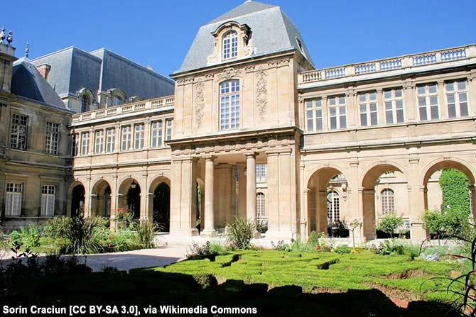 Музеи Парижа на карте