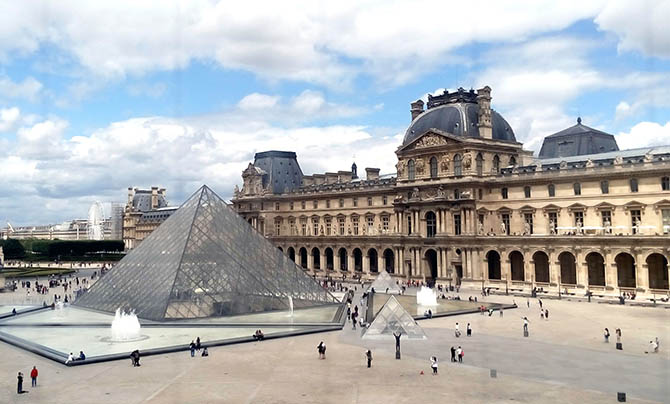 Музеи Парижа Лувр