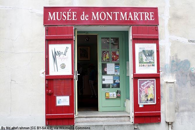 Монмартр Музеи Парижа
