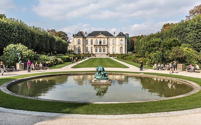 Париж Музей Родена